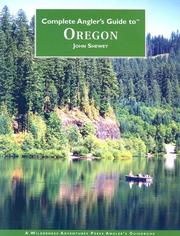 Cover of: Complete Anglers Guide to Oregon