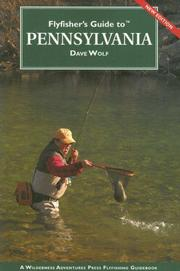 Cover of: Flyfisher's Guide to Pennsylvania (Flyfisher's Guide Series)