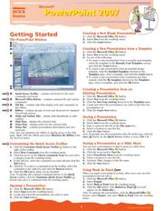 Cover of: Microsoft PowerPoint 2007 Quick Source Guide | Quick Source