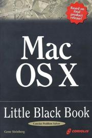 Cover of: Mac OS X Little Black Book