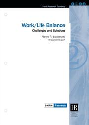 Cover of: Work/Life Balance
