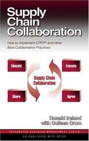 Cover of: Supply chain collaboration | Ronald Ireland