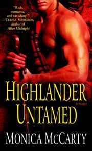 Cover of: Highlander Untamed | Monica McCarty