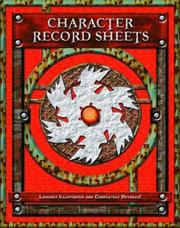 Cover of: Character Record Sheets (d20) (FAF2300) (D20) | Fast Forward