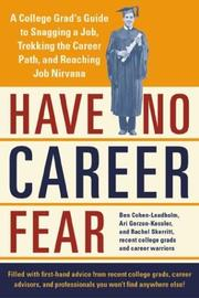 Cover of: Have no career fear |