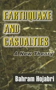 Cover of: Earthquakes and Casualties | Bahram Hojabri
