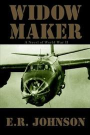 Cover of: Widow Maker | E. R. Johnson