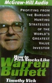 Cover of: How to Pick Stocks Like Warren Buffett | Timothy P. Vick