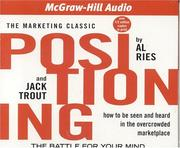 Cover of: Positioning | Al Ries