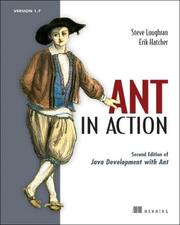 Cover of: Ant in Action (Manning) | Steve Loughran