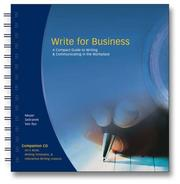 Cover of: Write for Business | Verne Meyer