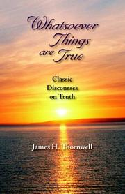 Cover of: Whatsoever Things Are True