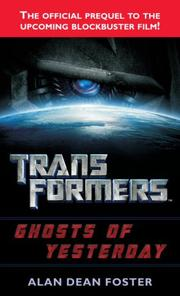 Cover of: Transformers: Ghosts of Yesterday (Transformers (Ballantine Books))