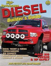 Cover of: High-Performance Diesel Builder