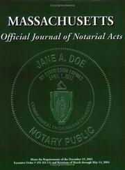 Cover of: Official Journal of Notarial Acts by Notarytrainer.com, Gerrie Pierre-Fleurimond, Joanna Lilly