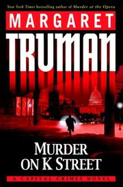 Cover of: Murder on K Street