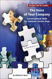 Cover of: The Voice of Your Company | Clifford Hurst