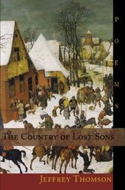Cover of: The Country Of Lost Sons