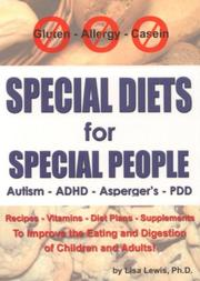 Cover of: Special Diets for Special People | Lisa S Lewis