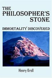 Cover of: The Philosopher's Stone