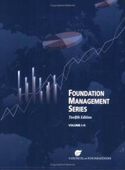 Cover of: Foundation Management Series | Council on Foundations.
