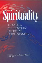 Cover of: Spirituality |