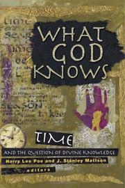 Cover of: What God knows |