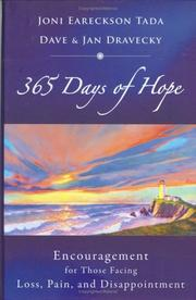 Cover of: 365 days of hope: Encouragement for Those Facing Loss, Pain, and Disappointment