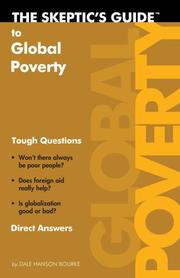 Cover of: The Skeptic's Guide To Global Poverty (The Skeptic's Guide)
