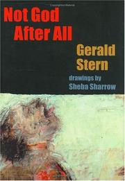 Cover of: Not God after all