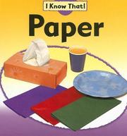 Cover of: Paper (I Know That!)