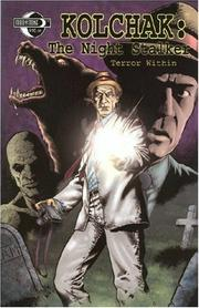 Cover of: Kolchak The Night Stalker | Stefan Pertucha