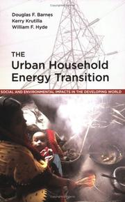 Cover of: The Urban Household Energy Transition  | Douglas F. Barnes