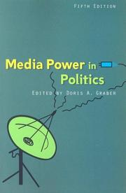 Cover of: Media Power in Politics