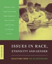 Cover of: Issues in Race and Ethnicity