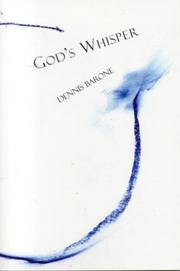 Cover of: God's whisper