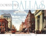 Cover of: Downtown Dallas | MARK RICE