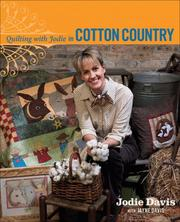 Cover of: Quilting with Jodie in Cotton Country | Jodie Davis
