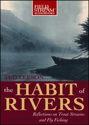 Cover of: The Habit of Rivers, 4-cd set | Ted Leeson