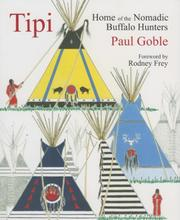 Cover of: Tipi