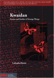 Cover of: Kwaidan | Lafcadio Hearn