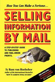 Cover of: Selling Information by Mail
