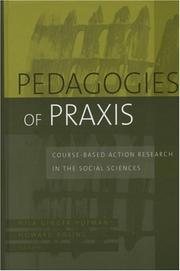 Cover of: Pedagogies of Praxis |