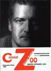 Cover of: Colonel Zoo