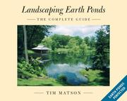 Cover of: Landscaping Earth Ponds | Tim Matson