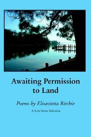 Cover of: Awaiting permission to land