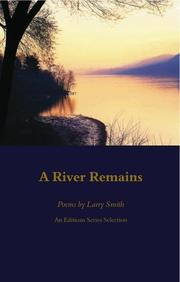 Cover of: A River Remains | Larry Smith