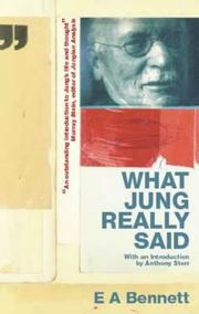 Cover of: What Jung Really Said