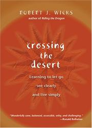 Crossing the Desert by Robert J. Wicks