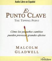 Cover of: El Punto Clave / The Tipping Point